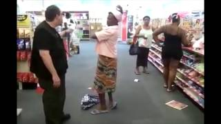 Jamaican Lady Goes OFF