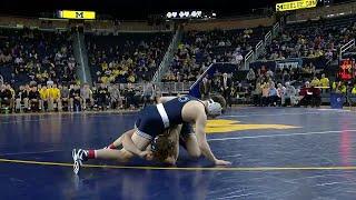 Penn State at Michigan - Wrestling Highlights
