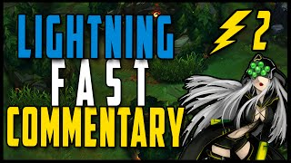 [Lightning Fast Commentary S6] #2 Master Yi Jungle