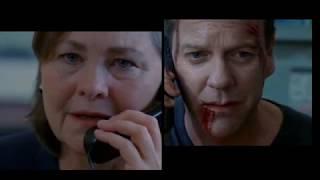 Final Scene in 24, Jack goes on the run - 24 Season 8 - #Jackuary