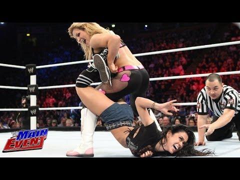 AJ Lee vs. Natalya - Divas Championship Match: WWE Main Event, Nov. 13, 2013