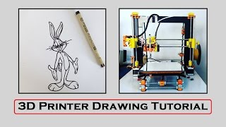 3D Printer Drawing Tutorial Inkscape & Repetier Host