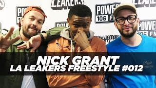 Nick Grant Freestyle With The LA Leakers | #Freestyle012