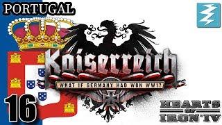 CANADA DECLARES ON AMERICA [16] Portugal - Kaiserreich Mod - Hearts of Iron IV HOI4 Paradox