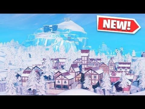Xxx Mp4 ALL FORTNITE SEASON 7 NEW LOCATIONS And MAP CHANGES Happy Hamlet Polar Peak Amp Frosty Flights 3gp Sex