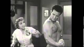 Steve Reeves funny rare video, original voice