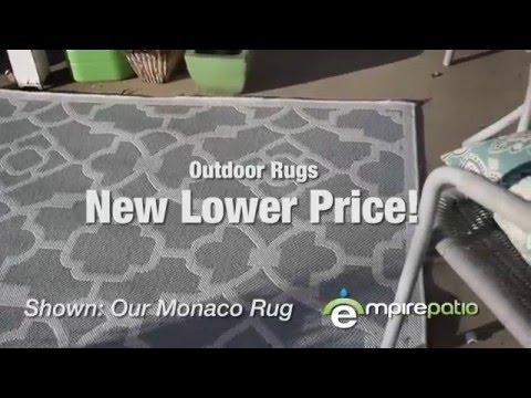 New Lower Price on Patio Rugs at EmpirePatio.com