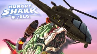 BOSS HELICOPTER AND JETPACK SHARKS!!! - Hungry Shark World | Ep 27