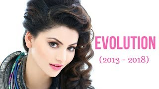 Urvashi Rautela Evolution (2013 - 2018)
