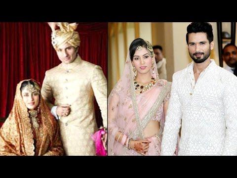 Biggest Bollywood Weddings | Shahid Kapoor & Mira Rajput, Kareena Kapoor & Saif Ali Khan and more