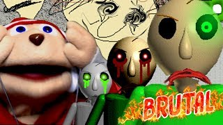 PLAYTIME GIRL + BALDI = ANNOYING  | Baldis BRUTAL Basics In Education And Learning MOD