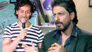 Tiger Shroff Comments On Shahrukh Khan Detained At US Airport!