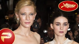 Cannes 2015 - Kate Blanchett et Rooney Mara au photocall du film Carol