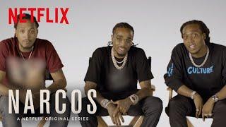 Narcos: Mexico   Meet Narcos' Biggest Fans: Migos   Netflix
