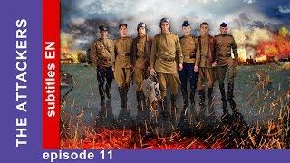 The Attackers - Episode 11. Russian TV Series. StarMedia. Military Drama. English Subtitles