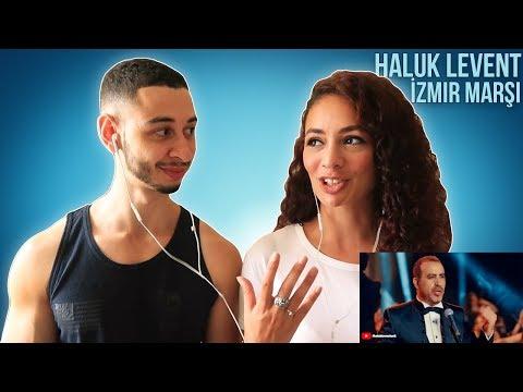 Haluk Levent - İzmir Marşı 🇹🇷 Turkish History Music Reaction | Jay & Rengin