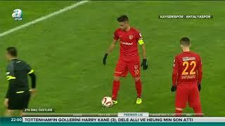 Kayserispor 3-1 Antalyaspor | Maç Özeti | a spor | ZTK son 16