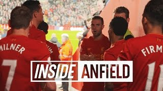 Inside Anfield: Liverpool 4-1 Stoke City | TUNNEL CAM