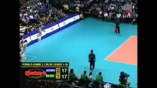 Mika Reyes: 2 Straight Blocks and 2 Straight Stares