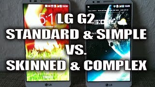 LG G2 (Out of The Box) vs. LG G2 (Heavy Themed/Loaded with Apps)