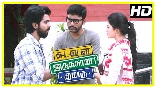 Kadavul Irukaan Kumaru Scenes | Anandhi refuse G V Prakash's proposal | Nikki Galrani | RJ Balaji
