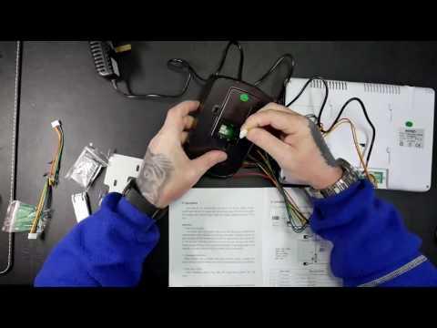 TechChecker#124 KKmoon Video Doorbell 9'' Color LCD Video Door Phone Intercom Doorbell Unlock