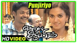 Ennul Aayiram tamil movie | scenes | Punjiriyo song | Maha follows Marina | Gopi Sunder