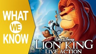 The Lion King (2019) Live-Action Remake | What We Know