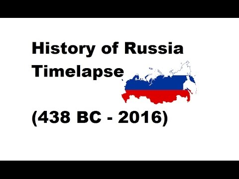 History of Russia - Timelapse (438