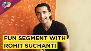 Rohit Suchanti Plays Love,Lust and Relationship With India Forums| Exclusive