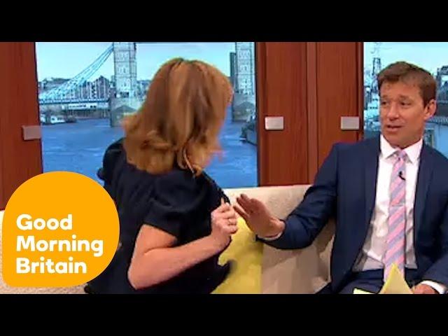 Kate Garraway Flashes Ben and Susanna! | Good Morning Britain