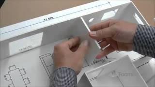 Building Foam board Models Making House Scale Model PART 4