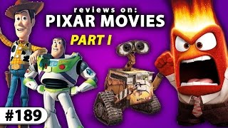 Reviewing PIXAR's BEST MOVIES -- From