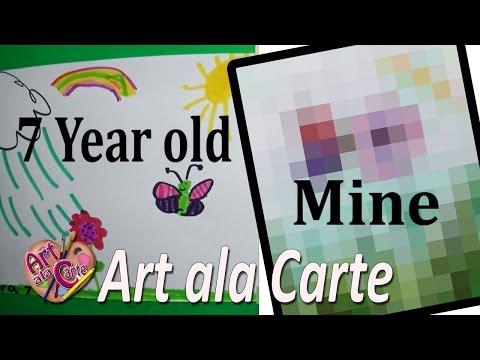 A Child's Art Challenge
