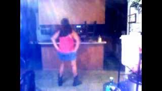 My Cuzzin Dancing To Country Girl Shake it For Me