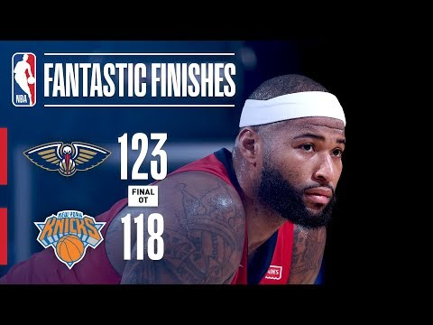 Xxx Mp4 The Pelicans And Knicks Battle In OT At New York January 14 2018 3gp Sex