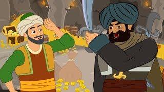 Ali Baba et LES 40 Voleurs | 1 Conte + 4 comptines et chansons  - dessins animés en français