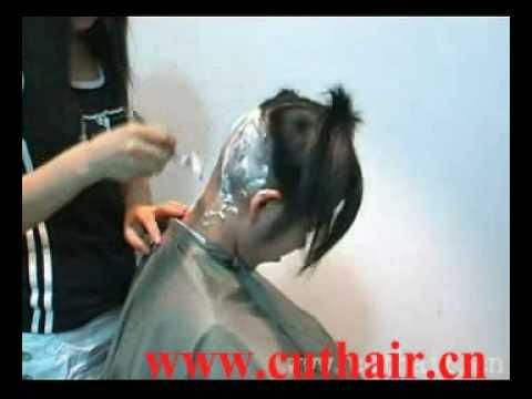 Xiaoshu video No.203 (BOB bald) http://www.cuthair.cn
