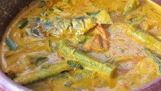 Kerala Fish Curry | Trivandrum Style Fish Curry | Nadan Meen Curry