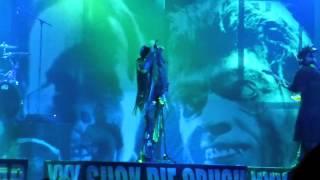 Rob Zombie - Rock Fest - Cadott, WI - July 20, 2014 - First 2 songs