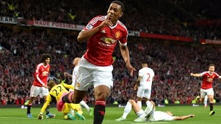 Anthony Martial Debut for Manchester United vs Liverpool 2015 HD - First Goal for Manchester United