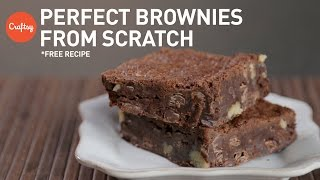 Brownies from scratch (with free recipe) | Baking Tutorial with Zoë François