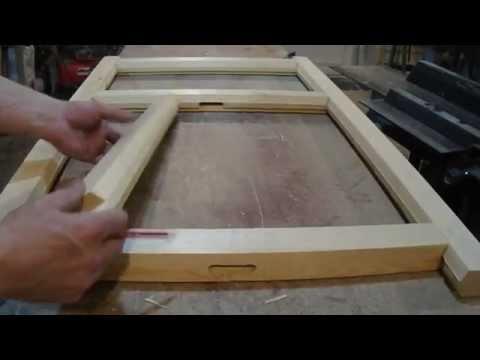 Оконные рамы деревянные видео