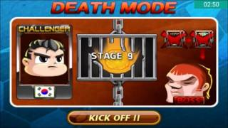 Head Soccer Challenge - Death Mode with South Korea Stages 1-10 (Part 9#)