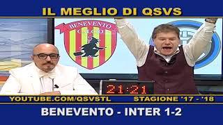 QSVS - I GOL DI BENEVENTO - INTER 1-2 TELELOMBARDIA / TOP CALCIO 24