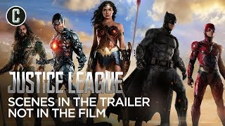 Justice League Scenes That Were In The Trailer, But Not The Movie
