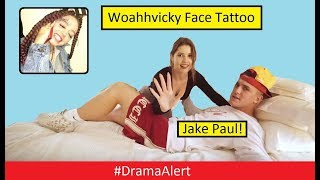 Jake Paul Record Deal! #DramaAlert Woahhvicky Face Tattoo! Dr DisRespect Face Reveal!
