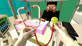 Realistic Minecraft : LITTLE KELLY IS IN HOSPITAL!