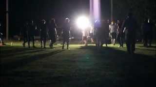 Capricorns Training Night Lights