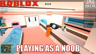 Get 15k Cash in 20 Minutes   Playing as a Noob Roblox Jailbreak